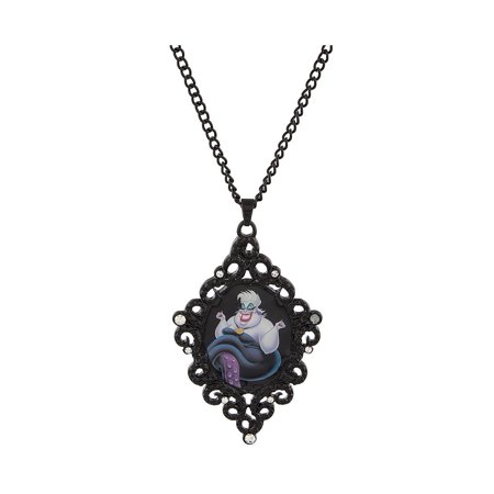 Disney Parks The Little Mermaid Ursula Cameo Necklace New with Tags - Ursula Necklace