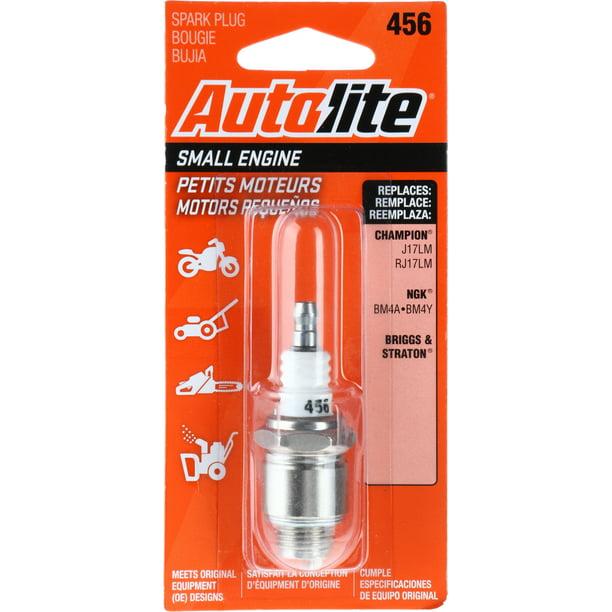 Autolite Small Engine Spark Plug 456 For Select Tecumseh Engine Power Equipment Walmart Com Walmart Com