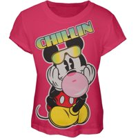 Mickey Mouse - Chillin Girls Youth T-Shirt