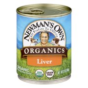 Newman`s Own Organics Premium Dog Food Liver, 12.0 OZ