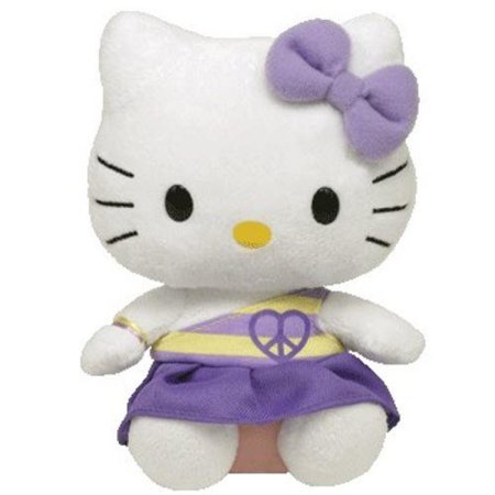Ty Hello Kitty - Purple Peace - Hello Kitty Build A Bear Halloween