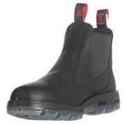 Redback Boots Size 10 Steel Toe Work Boots, Unisex, Black, EE, USBBK