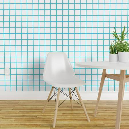 Wallpaper Roll 80S Eighties Retro Geometric Grid Square 24in x 27ft