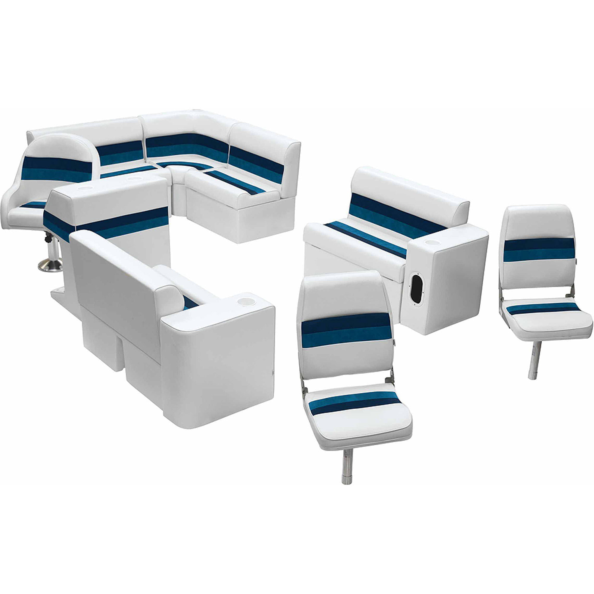 Wise Deluxe Square Pontoon Arm Rest