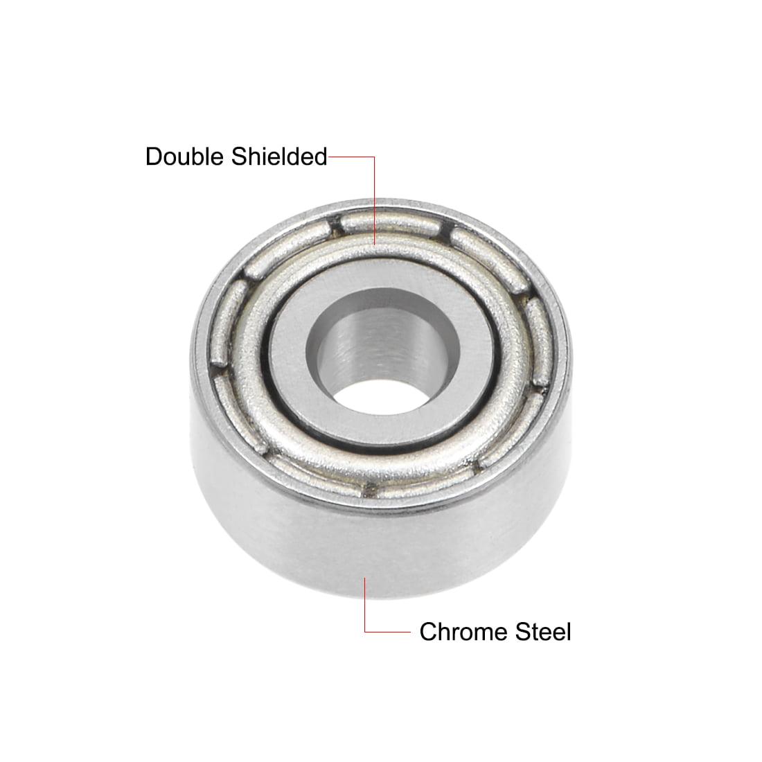 MR93ZZ Metal Shielded Deep Groove Miniature Ball Bearing 3x9x4mm