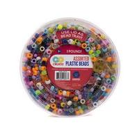 Go Create Plastic Bead Value Pack