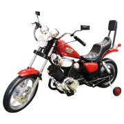 Chopper Motorcycle 6V Kids Battery Powered Ride On Car Red by