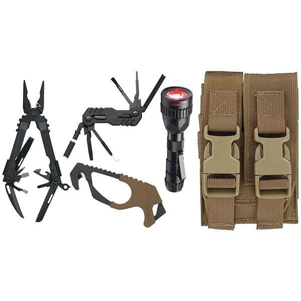 Gerber 30-000366 Individual Deployment Kit w/Strap Cutter & Molle Compat. Sheath