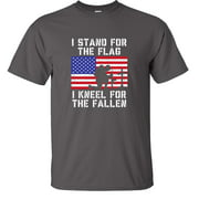 I Stand For The Flag I Kneel For The Fallen T-Shirt