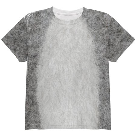 Halloween Koala Costume All Over Youth T Shirt - Halloween Youth Group Messages