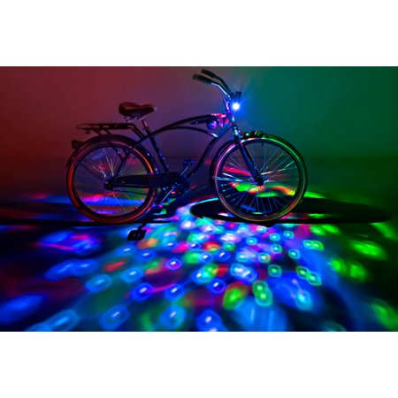 - Brightz, Cruzin Brightz Blinking LED Bicycle Light, Red/Blue/Green