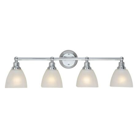 - Craftmade Bradley 26604 4 Light Bathroom Vanity Light