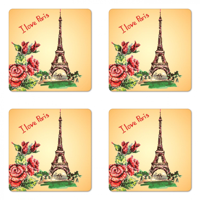 Paris Window Marble Coaster E/_108