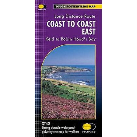 Coast to Coast XT40: East (Route Maps): 1 (Map)