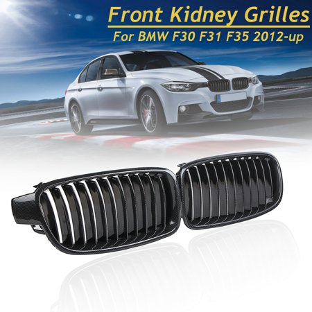 - Carbon Fiber Front Kidney Grill Grille Grills For BMW F30 F31 F35 3 Series 2012 2013 2014 2015 2016 2017 2018
