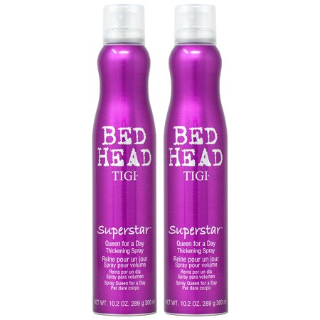 Tigi Bed Head SuperStar Queen For a Day Thickening Spray 10.2oz (Pack of