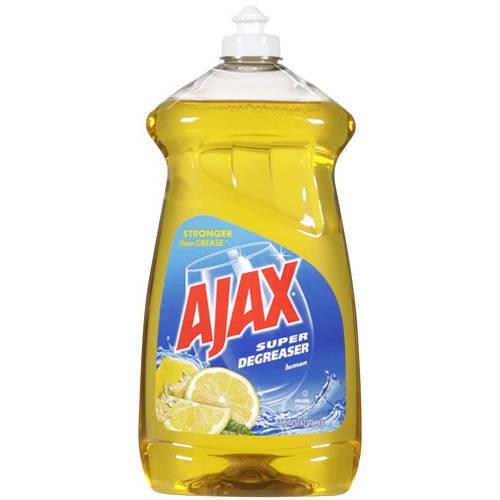 Ajax Super Degreaser Lemon Dish Liquid, 52 fl oz