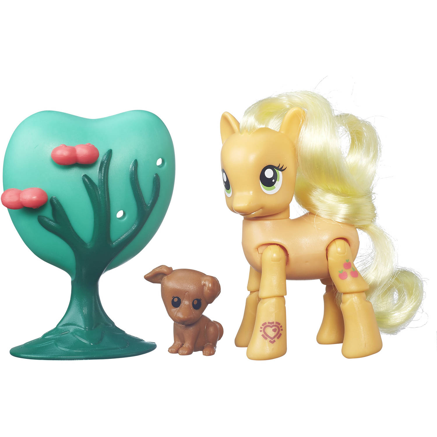 My Little Pony Friendship Is Magic Applejack Applebucking Poseable Pony by Hasbro
