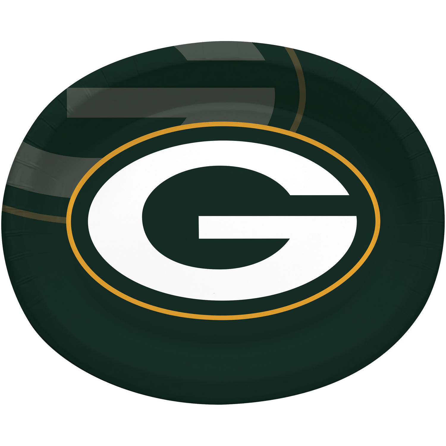 Green Bay Packers Oval Platters, 8-Pack