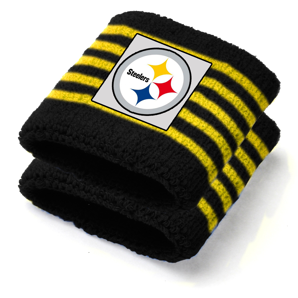 Pittsburgh Steelers NFL Youth Wristbands