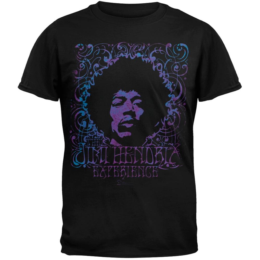 Jimi Hendrix - Experience Head Adult T-Shirt