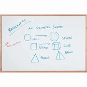 Aarco Products WOC1218NT Display Style White Marker Board