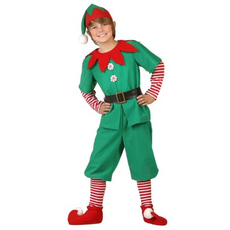 Child Holiday Elf Costume - Christmas Holiday Costumes