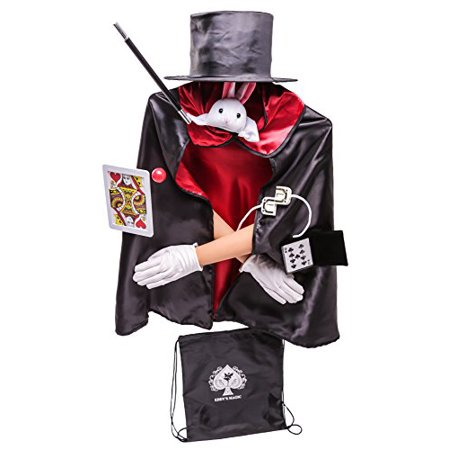 Kids Deluxe Magician Costume Set - 12 Pcs + Storage Bag for $<!---->