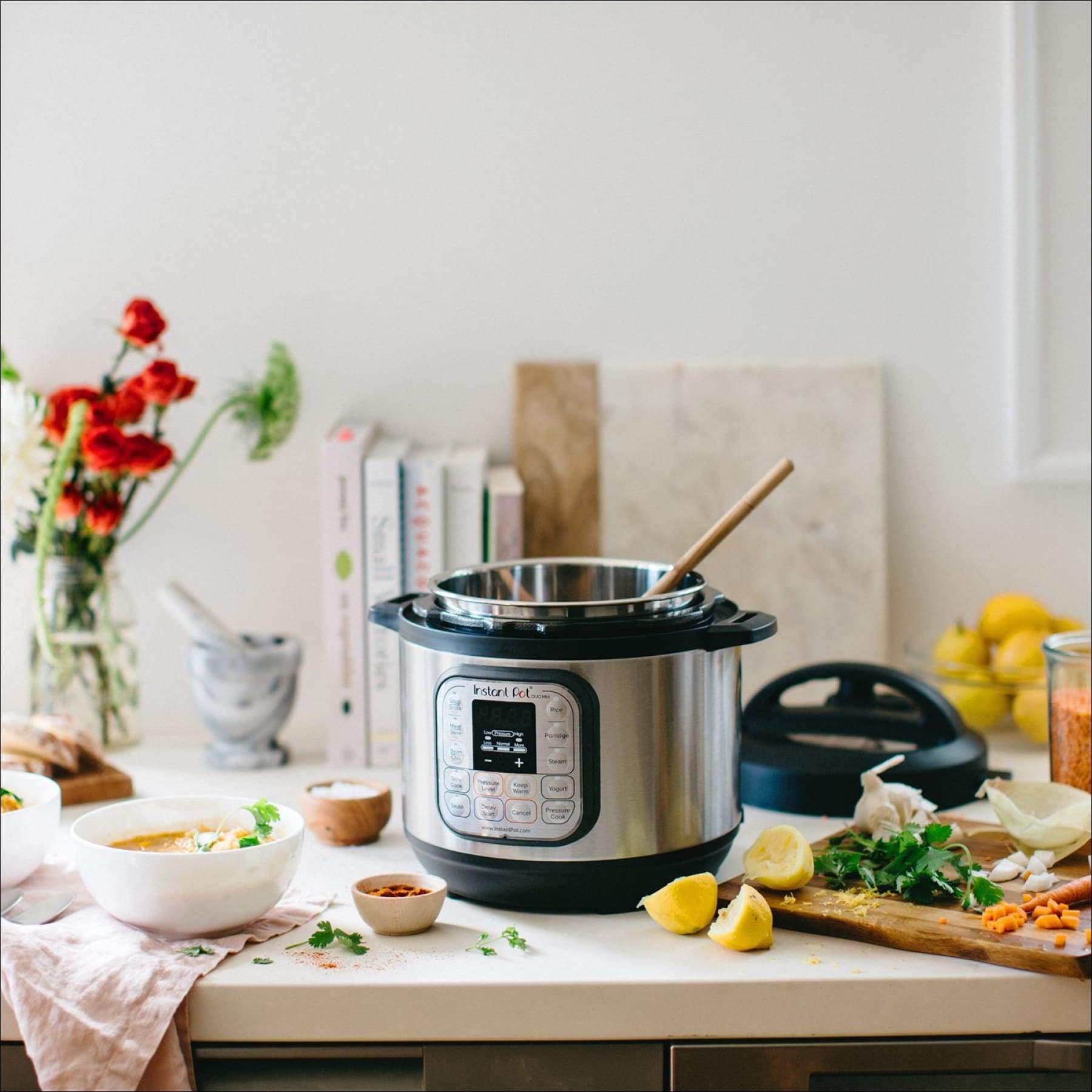 Instant Pot Duo Mini 3 Qt 7-in-1 Rice Cooker Steamer Pressure Cooker Sauté