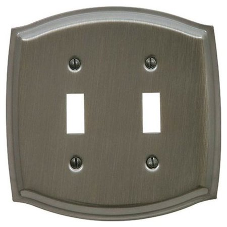 Baldwin Colonial 2-Gang Toggle Switch Wall Plate