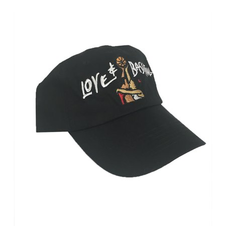 0cb147750d9 Love   Basketball Black Hat Baseball Cap Buckle Dad And Movie Costume -  image 1 ...