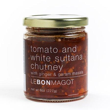 Tomato Chutney - Le Bon Magot Chutney & Marmalata - 8 oz - Tomato & white sultana chutney (8 ounce)