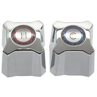 Danco 88358 Knob Faucet Handle, Zinc, Chrome