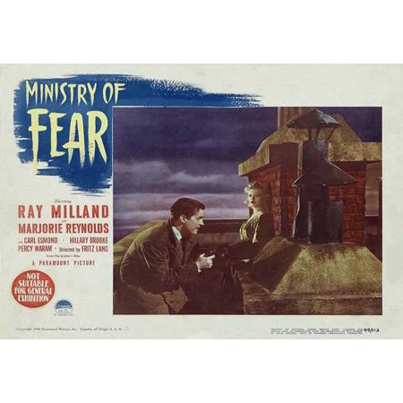 Ministry of Fear POSTER Movie B Mini Promo (Ministry Halloween)