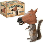Accoutrements Horse Head Squirrel Feeder Halloween Accessory
