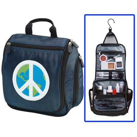 Peace Sign Toiletry Bag or Peace Sign Shaving Kit