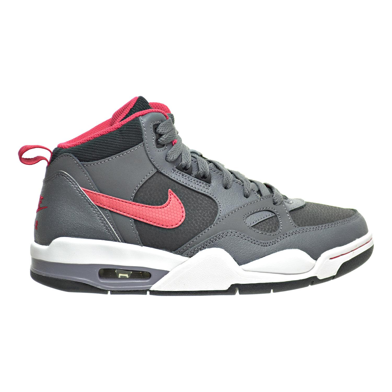 Nike Flight 13 (GS) Big Kid's Shoes Black/Distinct Red/Da...