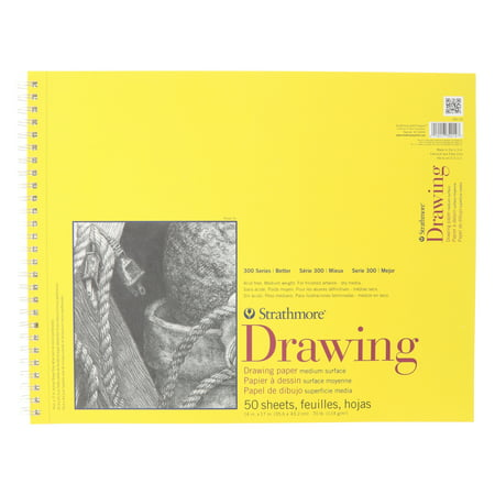 Drawing Paper Pad, 300 Series, 20 Sheets, 14in x 17in ()