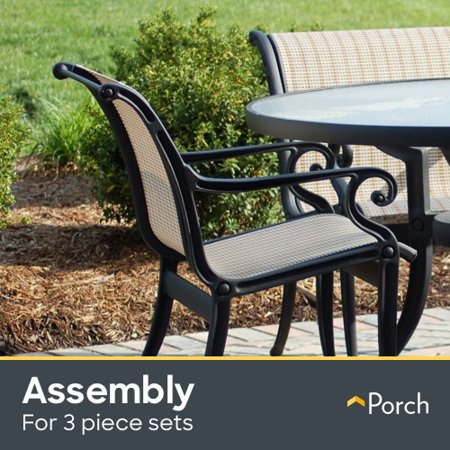 Patio Set Assembly - Up to 3 Pieces by Porch Home Services ()