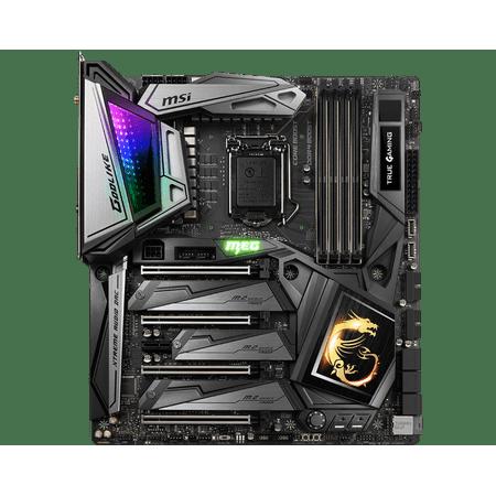 MSI MEG Z390 GODLIKE INTEL EATX GAMING MOTHERBOARD ONBOARD WIFI - Z390GODLIKE (Motherboard Msi Intel)