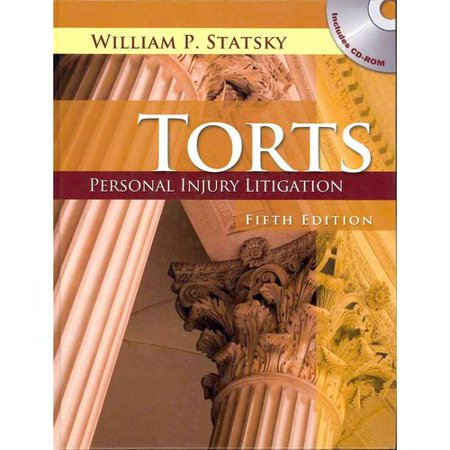 Torts : Personal Injury Litigation (Book Only)