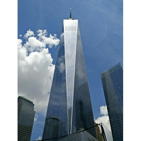 LAMINATED POSTER Glass New York City Building World Trade Center One Poster Print 24 x 36
