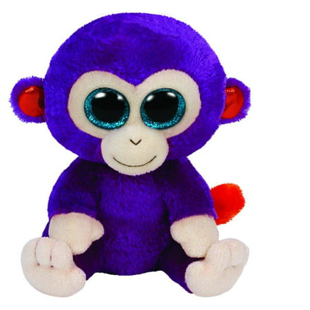Grapes Purple Monkey Beanie Boo - Stuffed Animal by Ty (36145)