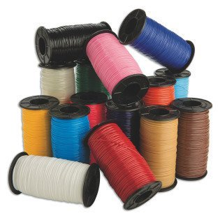 S&S Worldwide Color Splash! Budget Lacing, 1,500 yards of budget stretching lacing! Solid plastic lacing won't crack, chip or peel. More durable.., By SS Worldwide