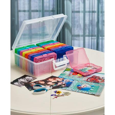 Colorful Photo Organizer Case - ()