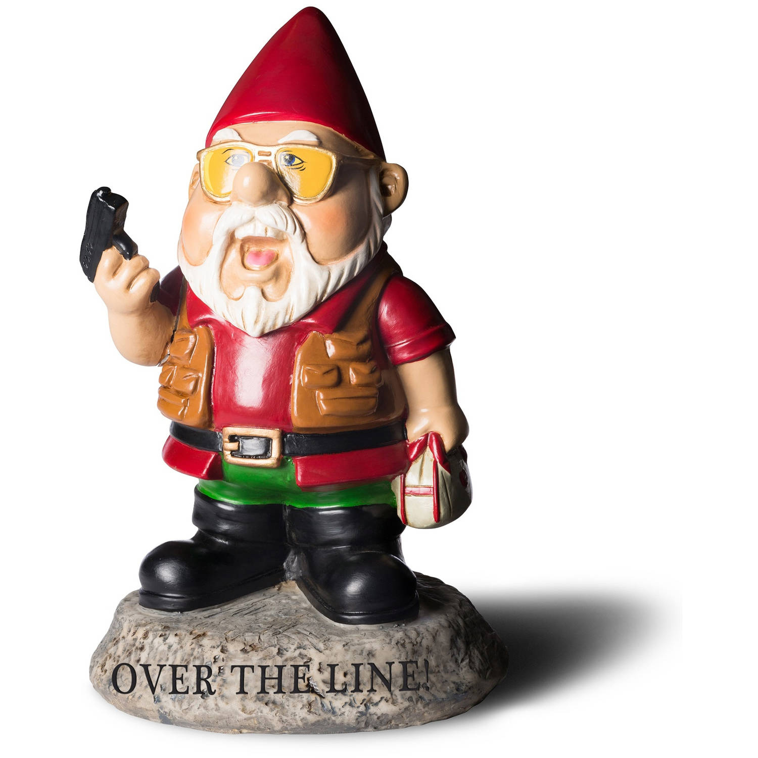 Over The Line Gnome by Generic