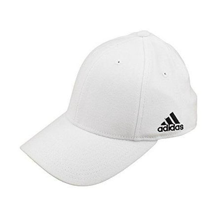 Adidas Men's Structured Flex Hat, White ()