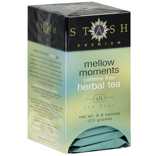 Stash Herbal Mellow Moments Tea Bags, 18ct (Pack of 6)