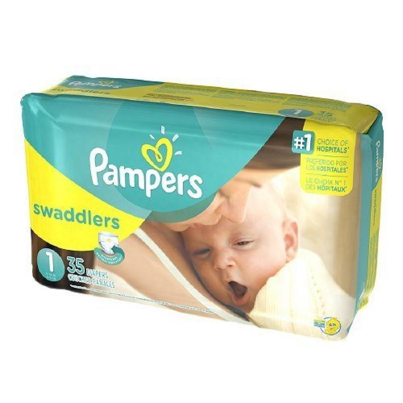 Pampers Stages Swaddlers New Baby Diapers Size 1 (8-14 lb...