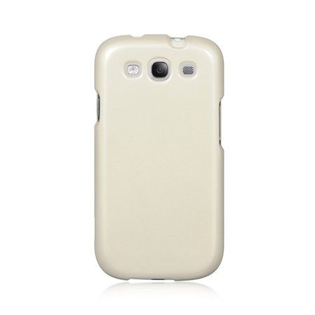 Insten Crystal Skin Hard Clip On Back Rear Cover Case For Samsung Galaxy S3 - Clear ()